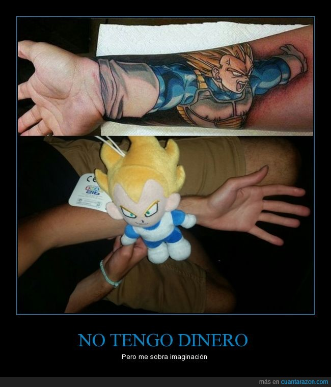 Dragon Ball,Sobrinos Molones,Tatuajes,Vegeta