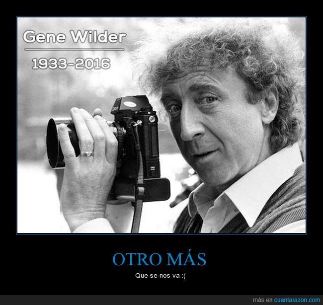 actor,comediante,dep,Gene Wilder,muere,muerte,rip