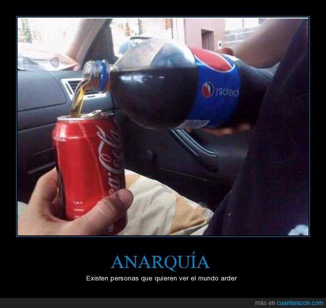 anarquia,coca cola,lata,meter,pepsi