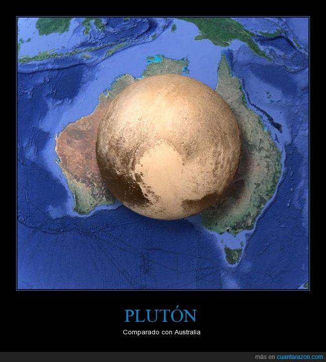 australia,planeta,plutón,tamaño