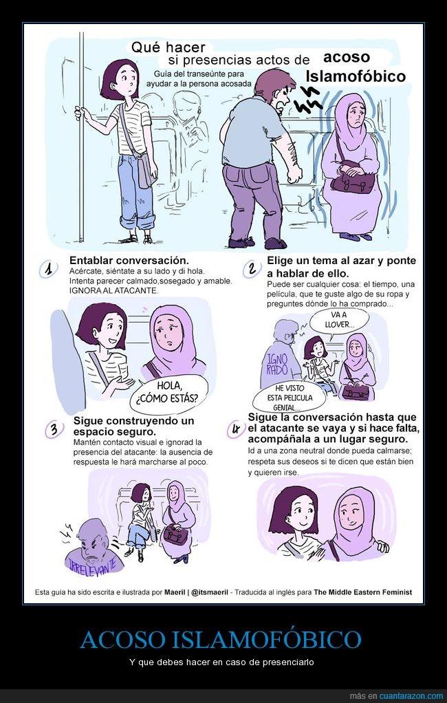 acoso,islam,islamofobia
