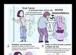 Enlace a Esta ilustradora ha creado una guía que muestra qué hacer si presencias actos de islamofobia