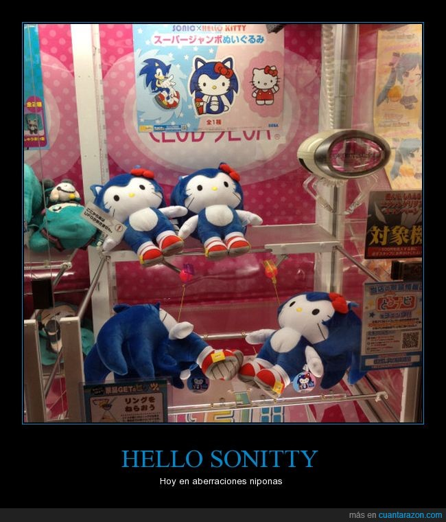 hello kitty,mashup,mix,sonic