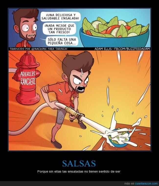 aderezo,ensalada,salsa