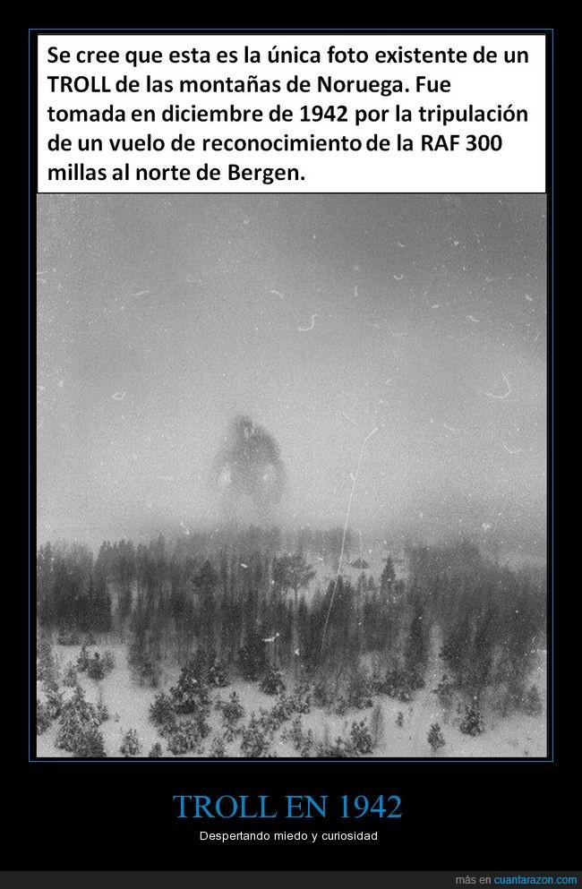 criptozoología,engaño,invierno,misterio,monstruo,noruega,photoshop,troll