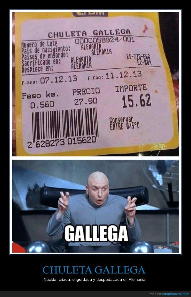 alemania,chuleta,etiqueta,galicia,gallega,vaca