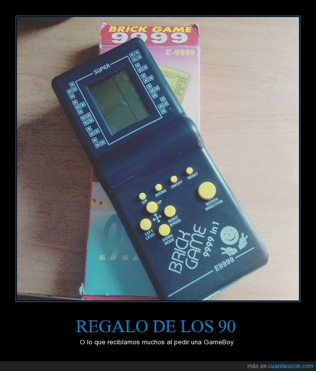 90s,9999in1,brickgame,infancia,nohaydineroparagameboy
