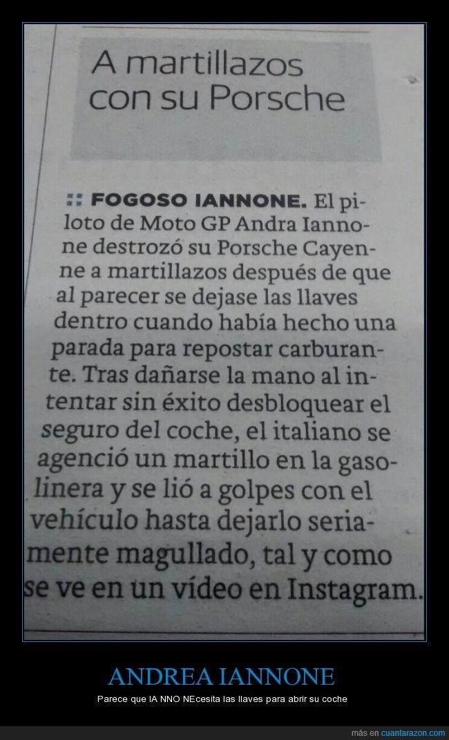 Andrea Iannone,italiano,martillo,Moto GP