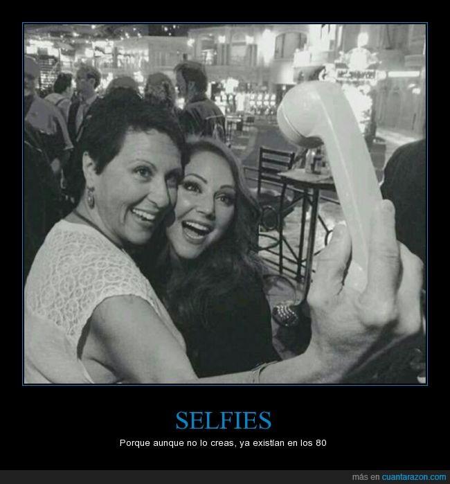 80s,existir,Selfie,teléfono