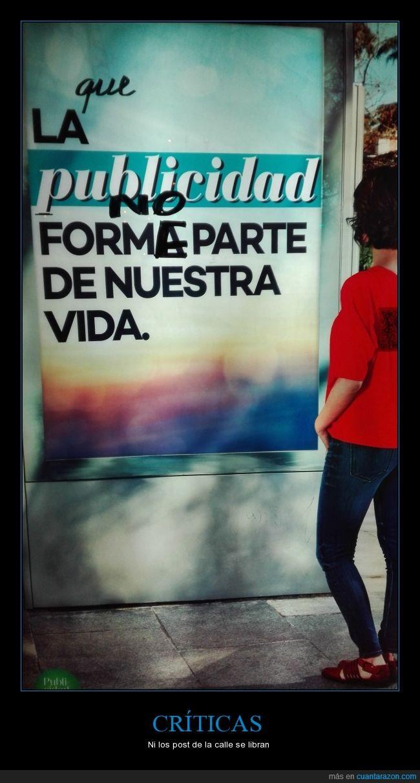 calle,cartel,pintada,publicidad