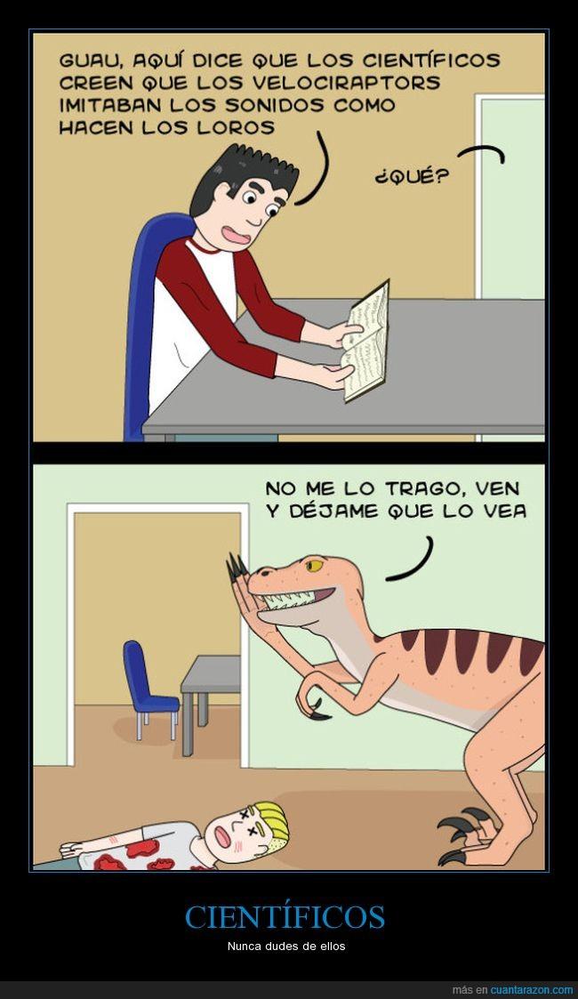 caricatura,cómic,dibujos,dinosaurios,humor,velociraptores