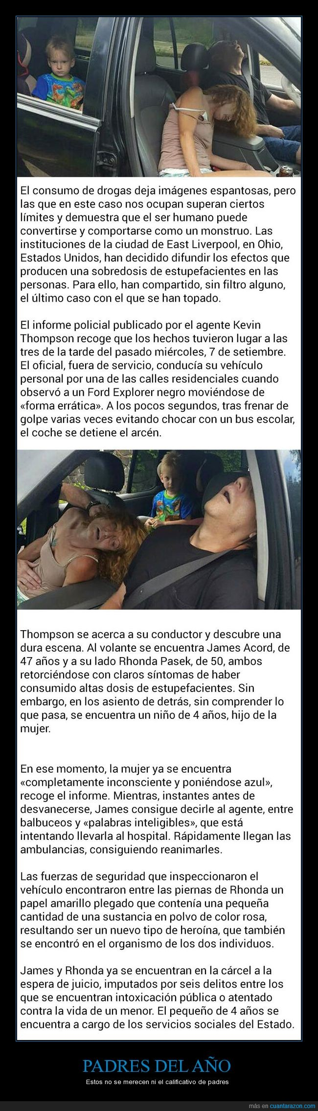 coche,droga,hijo,padres