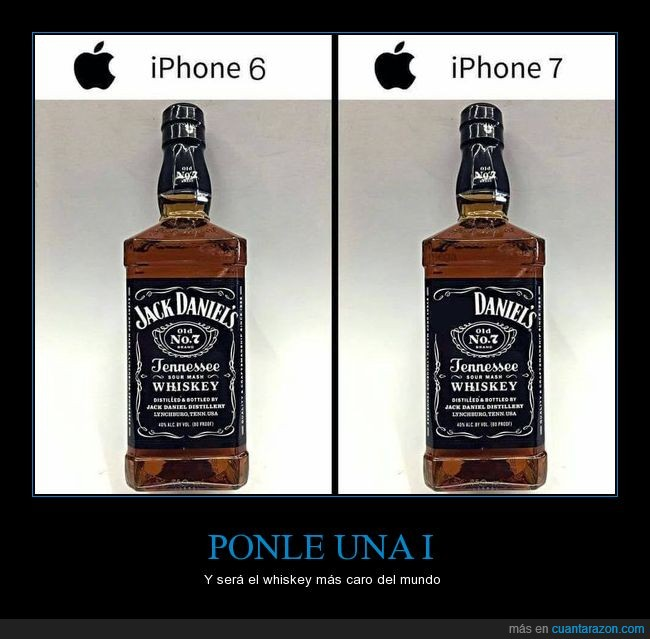apple,botella,diferencia,iphone,jack