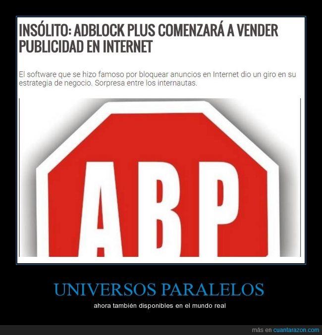 ABP,internet,publicidad,universo paralelo,vender