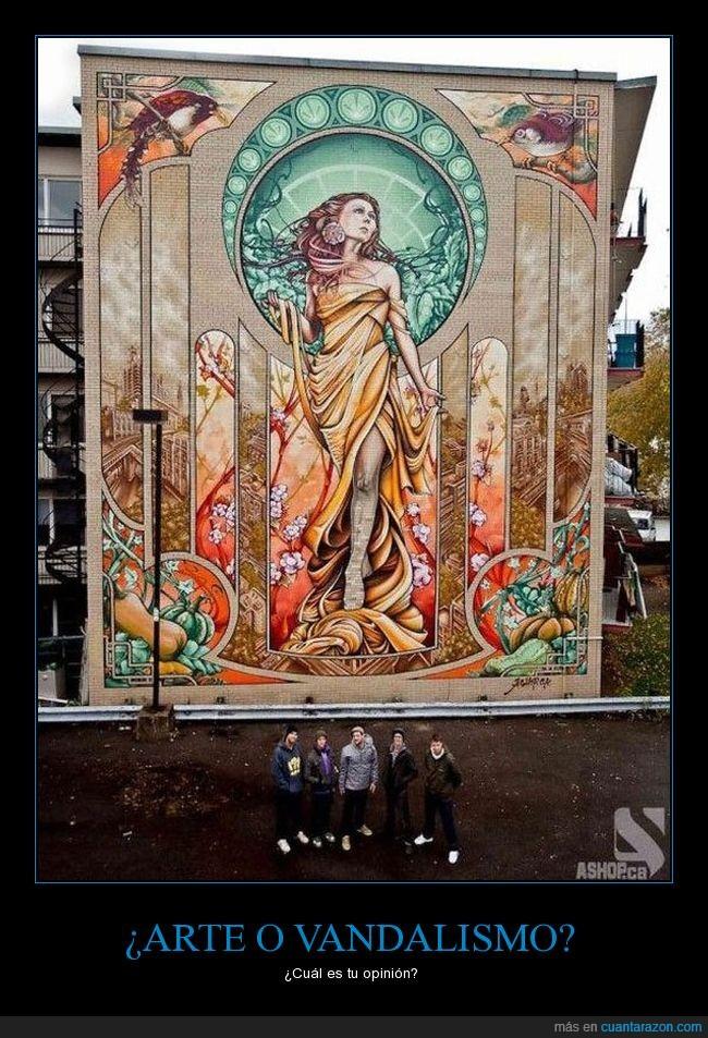arte,grafiti,increible,vandalismo