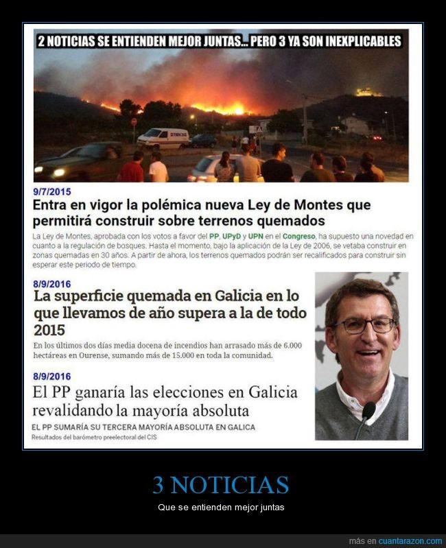 corrupción,galicia,incendios,ley de montes,pp,quemada