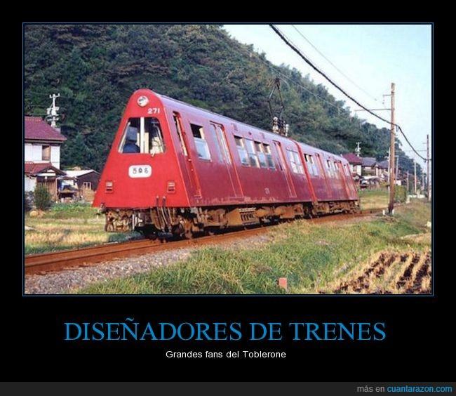 toblerone,tren