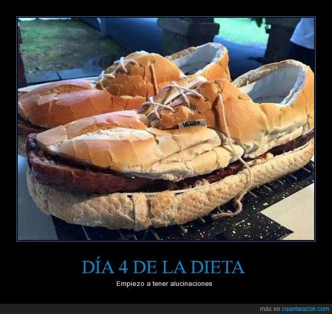 dieta,pan,vans,zapatos