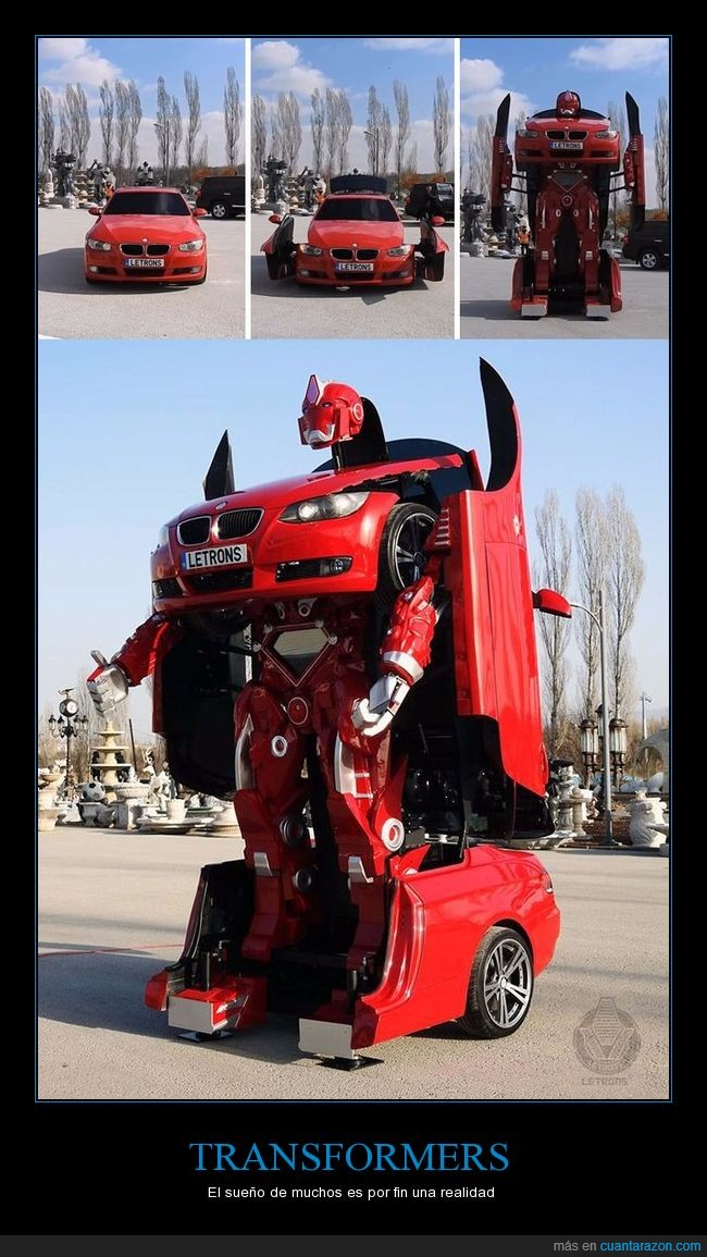 bmw,coche,robot,transformer