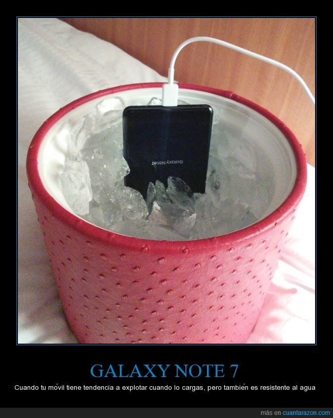 explotar,movil,samsung galaxy note 7