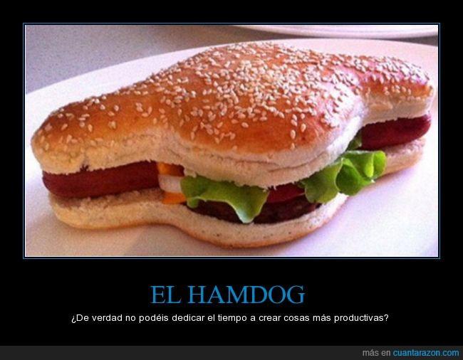 fusión,hamburguesa,hamdog,hotdog