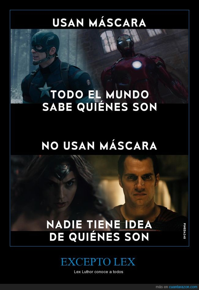 batman,dc,iron man,lex,marvel,mascara,superman,wonder woman