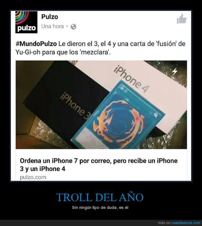 fusión,iphone3,iphone4,troll,yu-gi-oh