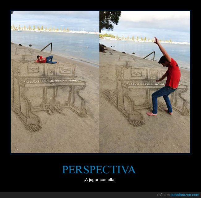 agua,arena,dibujo,perspectiva,piano