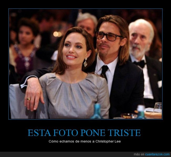 actores,amor,angelina jolie,brad pitt,christopher lee,hollywood,ruptura