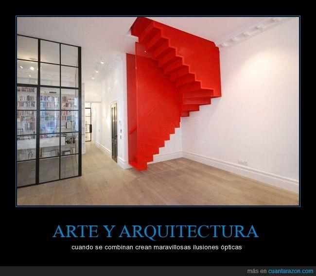 al revés,arquitectura,escaleras,ilusión óptica,quiero una casa de 2 pisos para tener esa escalera