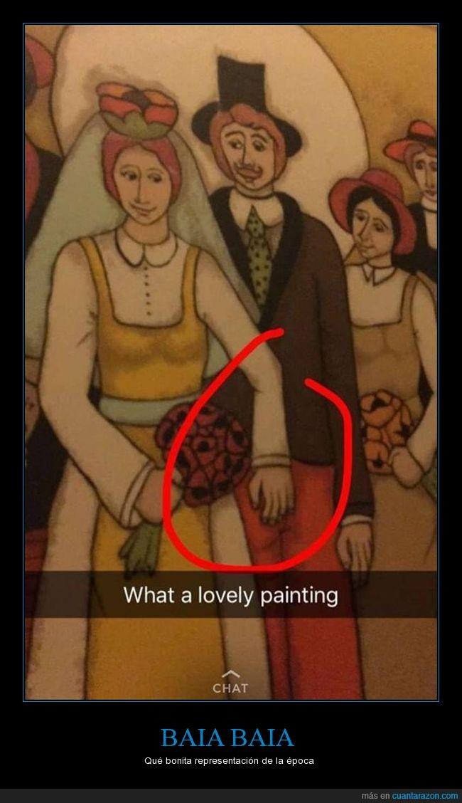 hombre,pintura,snapchat,wtf