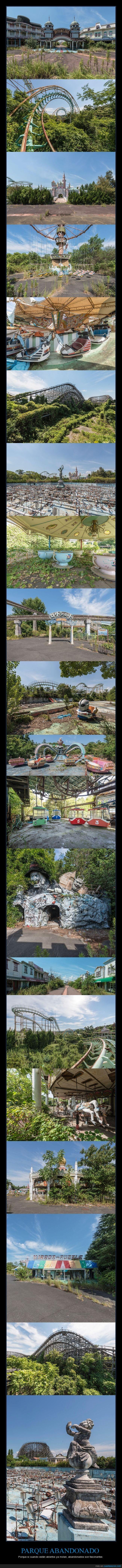 abandonado,japón,Nara DreamLand,parque de atracciones