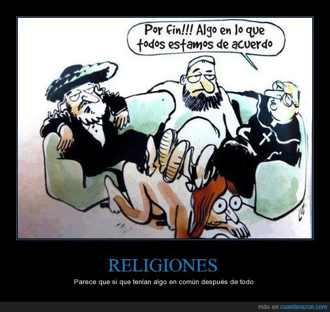 cristianismo,islamismo,judaísmo,mujer,religiones