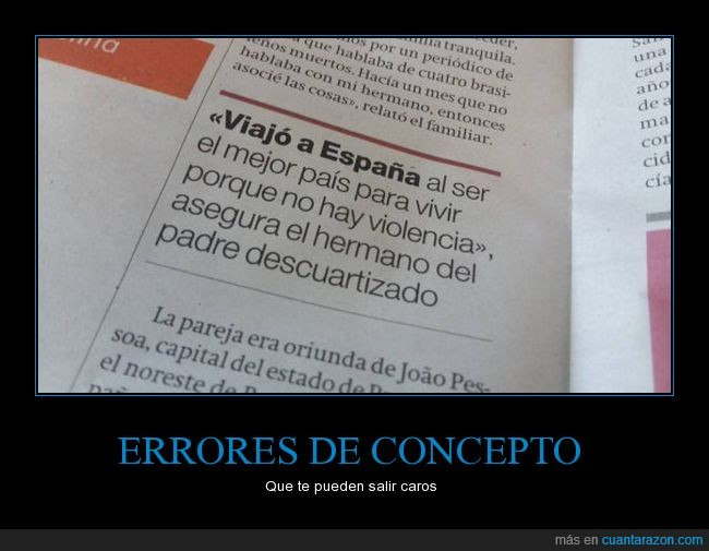 confusion,error,españa,ironia,morir,pais,violencia