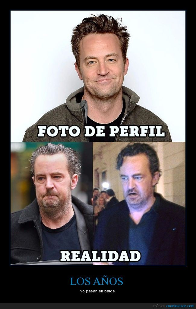 chandler,friends,mathew perry,omg,viejo