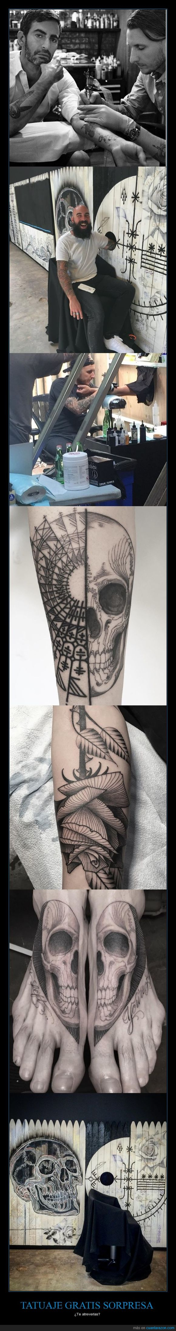 scott campbell,sorpresa,tatuaje