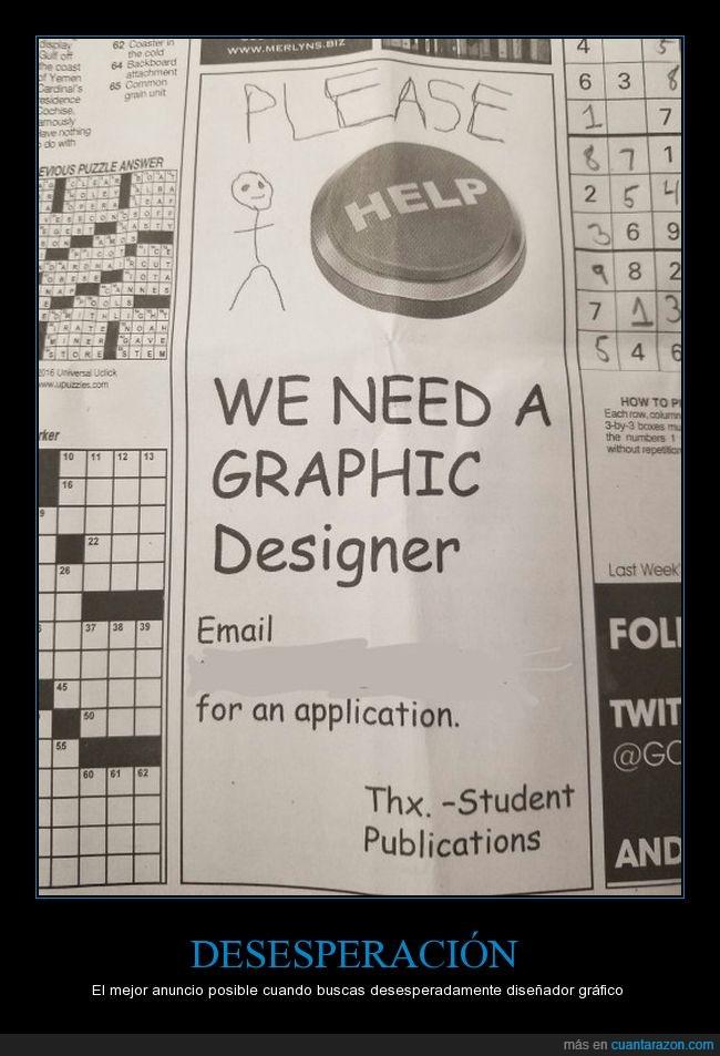 anuncio,cutre,diseñador gráfico,periódico