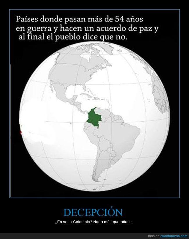 Colombia,FARC,Gerra,Paz