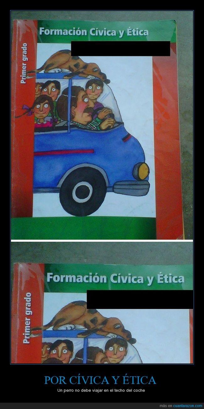 animal,automóvil,cívica,educación,escuela,ética,familia,libro,mascota,perro