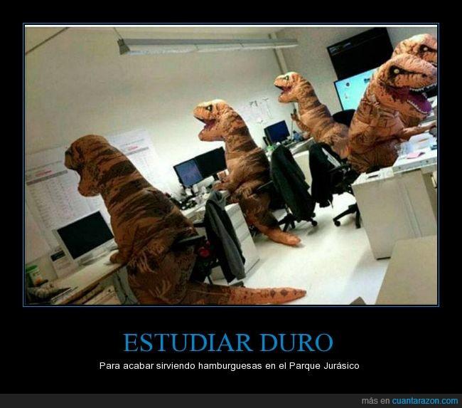 clase,dinosaurios,estudiar,pc