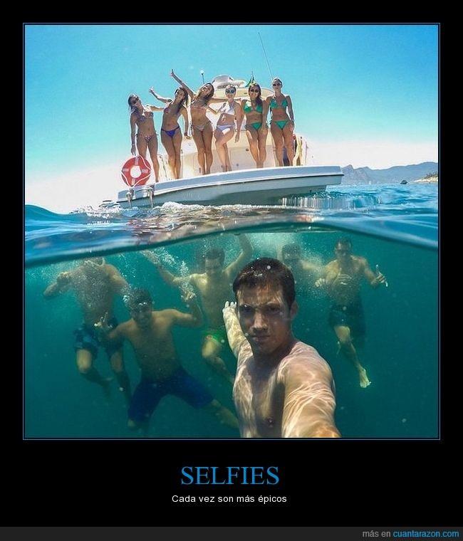 chicas,chicos,foto,mar,selfie,submarino,yate