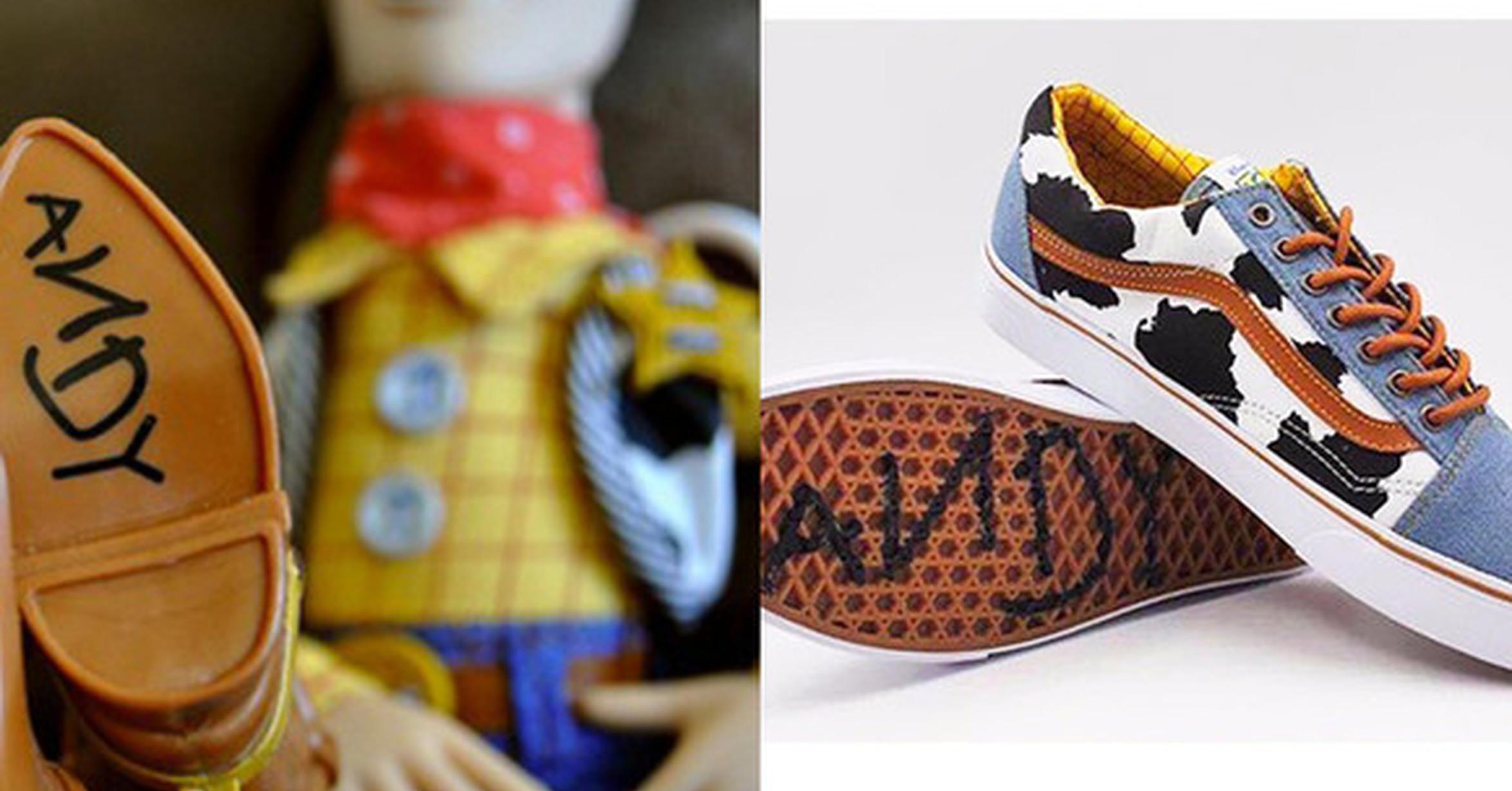 vans zapatillas toy story