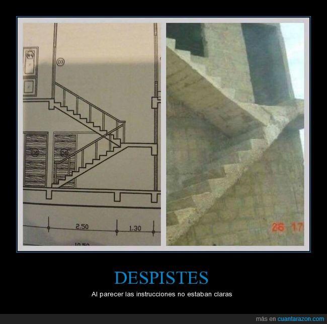 error,escaleras,plano