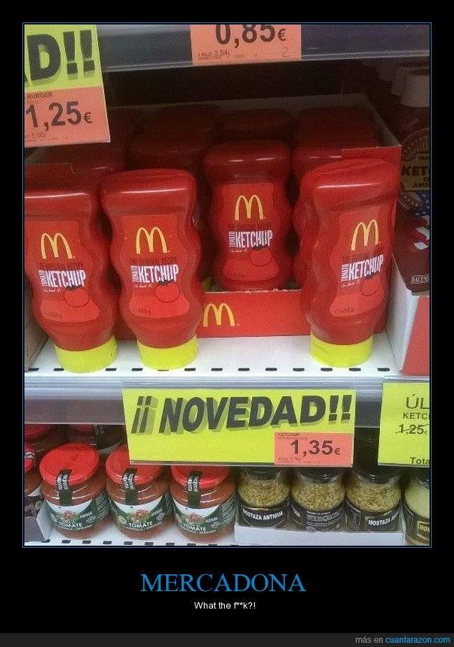 ketchup,McDonald's,mercadona
