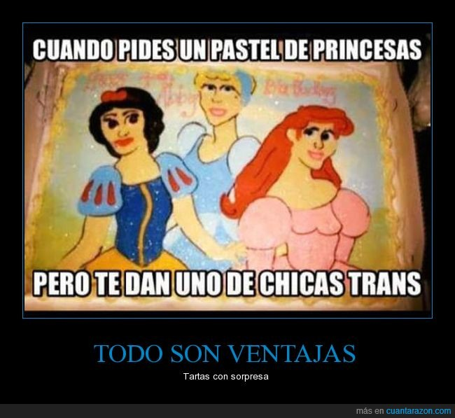 derp,princesas disney,tartas