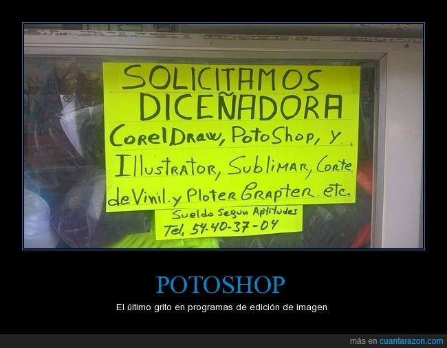 cartel,ignorancia,ortografía