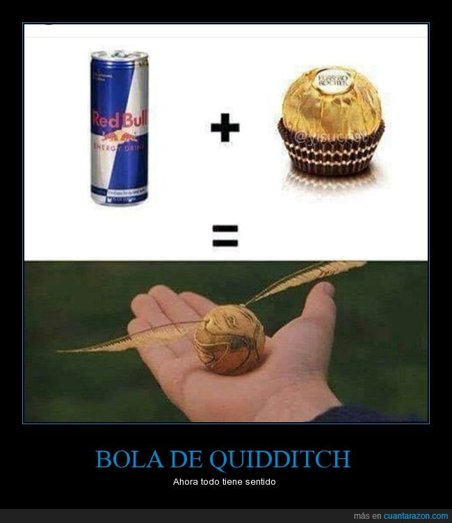 bola,ferrero rocher,harry potter,quidditch,redbull