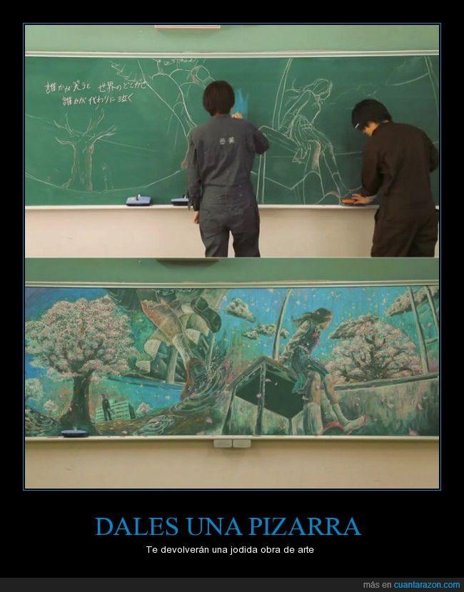 arte,dibujo,pizarra