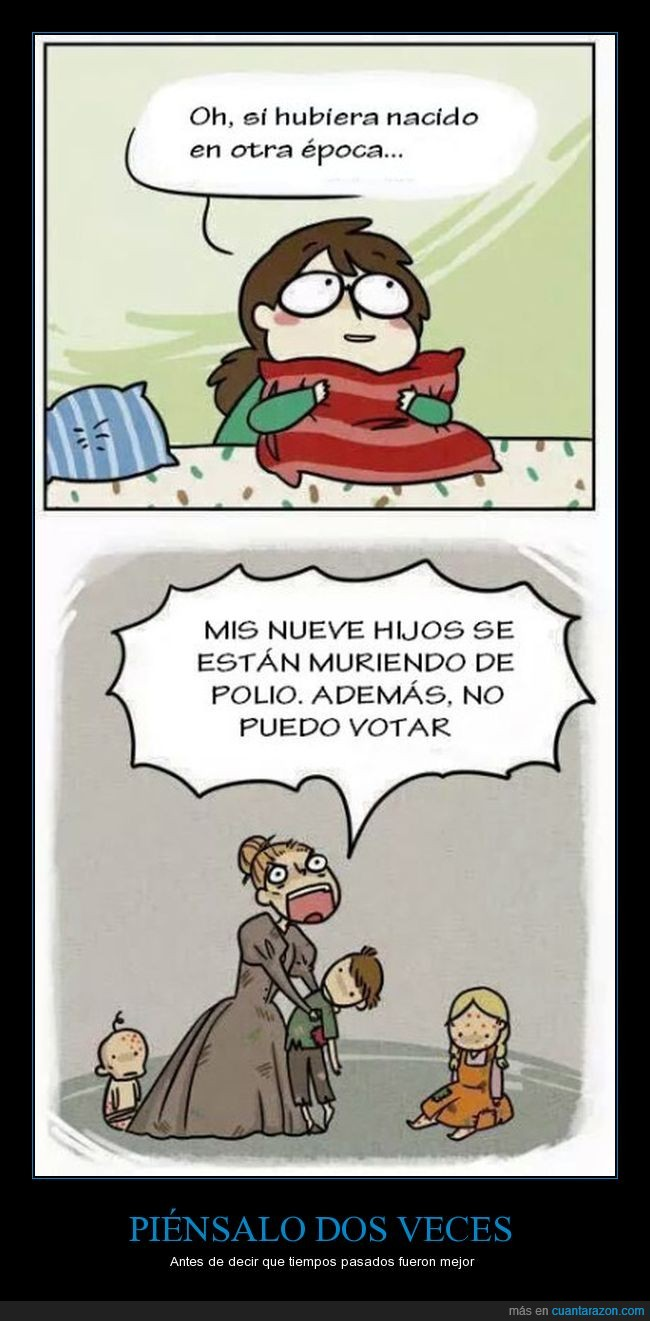 epoca,mujeres,polio,votar
