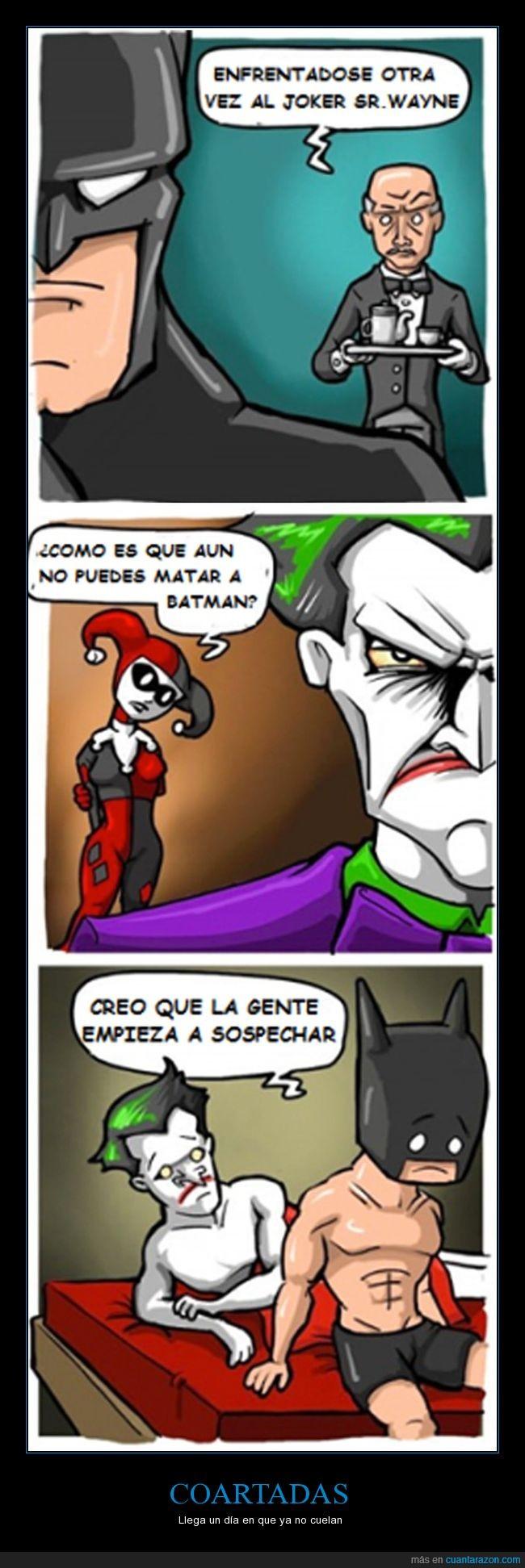 affair,batman,joker,lios de cama